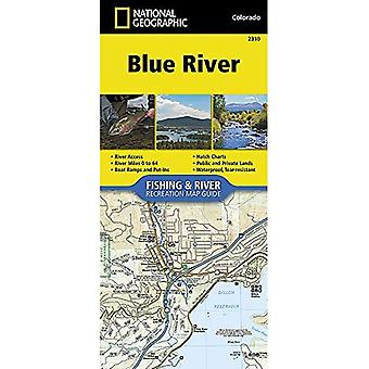Blue River (National Geographic Fishing & River Map Guide)