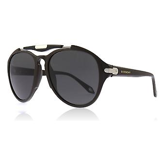 Givenchy SGV878 06XK Brown SGV878 Round Sunglasses Lens Category 3 Size 58mm