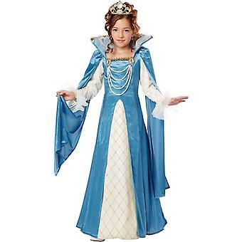 Renaissance Princess Girls Costume