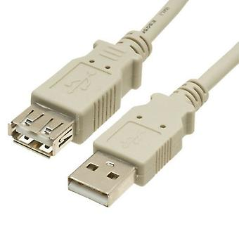 3m USB 2.0 Extension cable Triple Shielded A male - A female Premium usb2-023