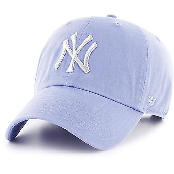 47 fuoco Cap fit rilassato - oyster CLEAN UP New York Yankees