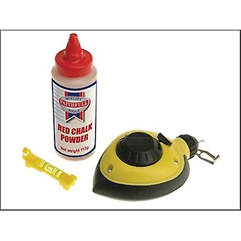 RAPID CHALK LINE & CHALK & LEVEL