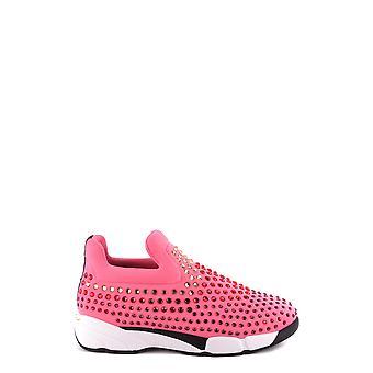 Pinko Fuchsia Nylon Sneakers