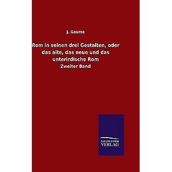 Rom in seinen drei Gestalten oder das alte das neue und das unterirdische Rom door Gaume & J.