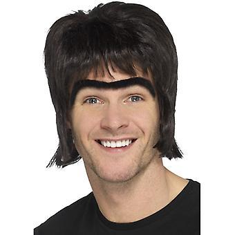 90s pop star men's wig