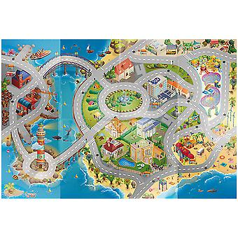 Child's Rug Tablecloth Play Circuit Salt from House Of Kids