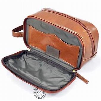 Woodland Leathers Leather Wash Bag