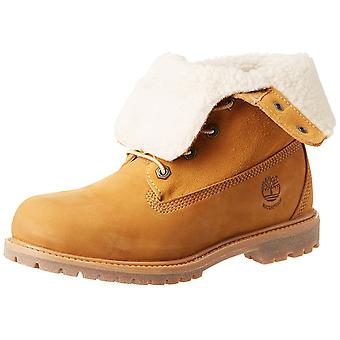 Timberland Womens Teddy Fleece Round Toe Ankle Fashion Boots