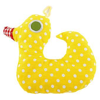 Childrens Heatable Cotton Cherry Pit Pillow: Duck