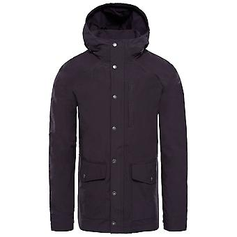 Die North Face wehmütige Black Mens Waxed Canvas Utility Jacket