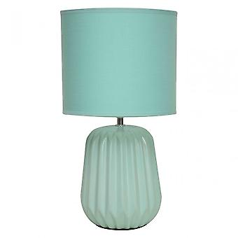 Premier Home Winola Table Lamp, Teal