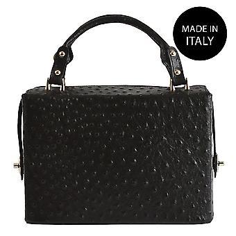 Handbag made in leather 80026
