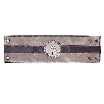Assassins Creed Odyssey Armband Metall Abzeichen Logo neue offizielle schwarz