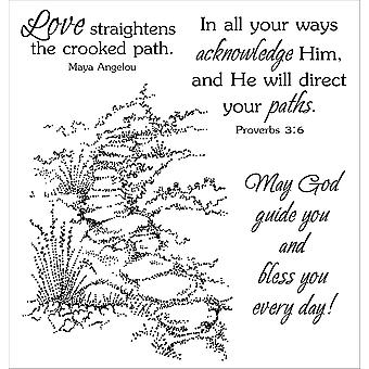 Inky Antics Clear Stamp Set Guided Path 11068Sc