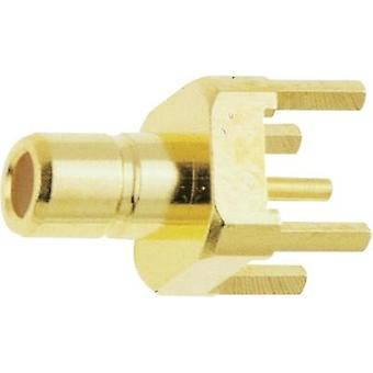 SMB connector Plug, vertical mount 50 Ω IMS 11.1510.001 1 pc(s)