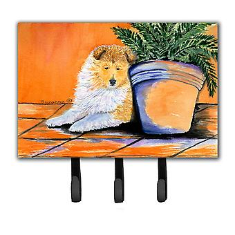 Sheltie Leash Holder or Key Hook
