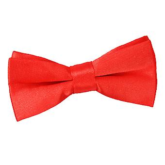 Boy es rot Plain Satin Bow-Tie