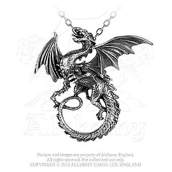 Alchemy Gothic The Whitby Wyrm Pendant