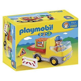 Playmobil 6960 1.2.3 Construction Truck