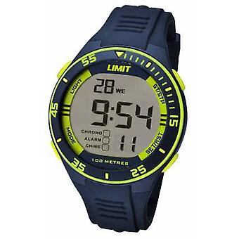 Limit Mens Navy Strap Digital Dial 5574 Watch