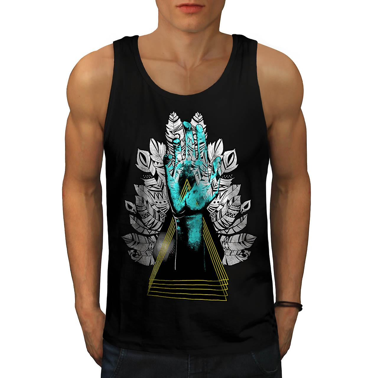 Zombie Rising Grave Undead Alive Men Black Tank Top | Wellcoda