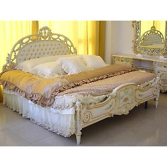baroque bed  double bed  180x200  sleeping room antique style   Vp7742Q