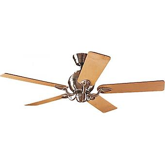 "Ceiling Fan SALINAS 132 cm / 52"" brushed chrome"