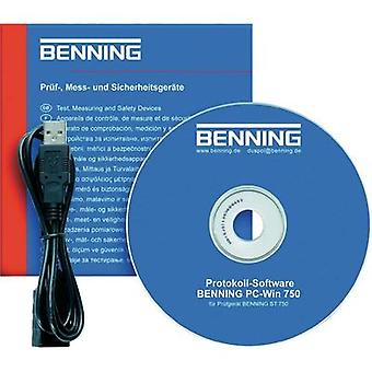Benning Software PC-Win ST 750 SoftwareCompatible with ST 750