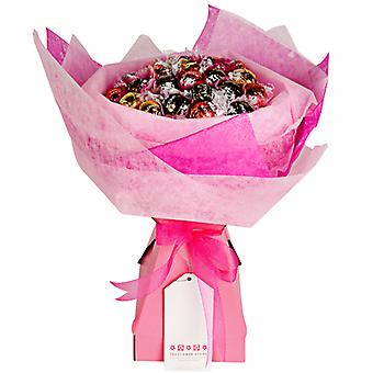 Mothers Day Chocolate Bouquet - Pink Rose