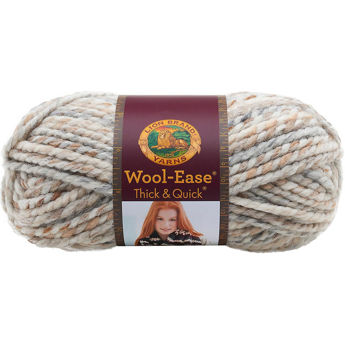 Wool-Ease Thick & Quick Yarn-Fossil 640-536