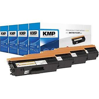KMP Toner cartridge combo pack replaced Brother TN-325 Compatible Black, Cyan, Magenta, Yellow 4000 pages B-T38V