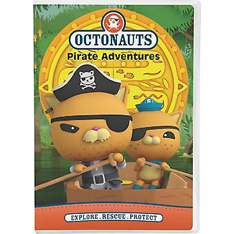 Octonauts: Pirat eventyr [DVD] USA importerer