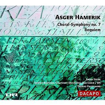 A. Hamerik - Asger Hamerick: Choral-Symphony No. 7; Requiem [CD] USA import