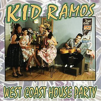 Kid Ramos - vestkyst houseparty [CD] USA importerer