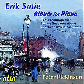 Peter Dickinson - Satie: Album for Piano [CD] USA import