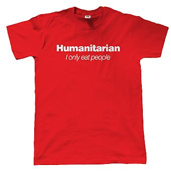 Vectorbomb, Humanitarian, Mens Funny T Shirt (S to 5XL)