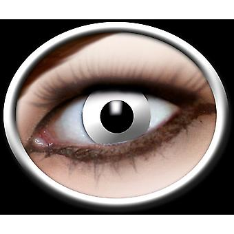 White contact lenses 1 pair Carnival Halloween theme party