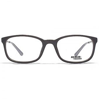 American Freshman Cory Classic Rectangle Glasses In Grey