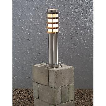 Konstsmide Trento OutDoor Stainless Steal Light Post