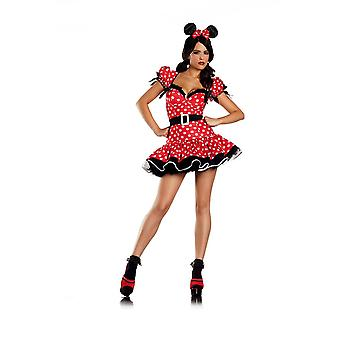 Be Wicked BW1082 4 piece Flirty Mouse Costume