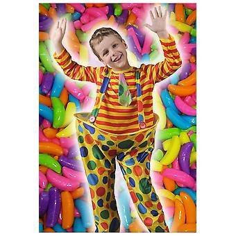Barnkläder för barn Clown Pippo