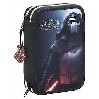 Safta Small Double pencil case 34 Pieces Star Wars Episode VII