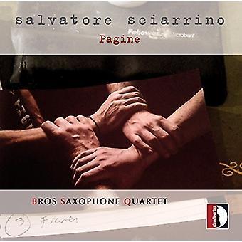 Anonyme / Bach, J.S. / Gershwin - Salvatore Sciarrino: Da Concerto Per 4 Saxofoni [CD] USA import