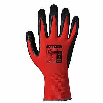 sUw - 6 Pr Pk Red Cut Resistant Hand Protection Glove Level 1 Red Medium