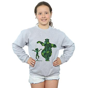 Disney Girls The Jungle Book Mowgli and Baloo Dance Sweatshirt