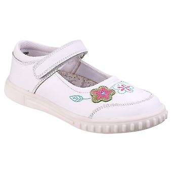 Hush Puppies Childrens Girls Lottie Floral Touch Fasten Shoes