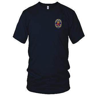 Estados Unidos esquadrão de submarinos da Marinha 10 Patch Bordado - Mens T-Shirt