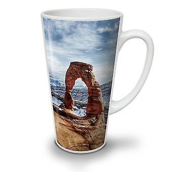 Desert Rock Arc Natur neue weißer Tee Kaffee Keramik Latte Becher 17 oz   Wellcoda