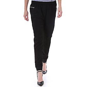 Maison Scotch Woven Jogger Pant With Front Zip Pockets 83780