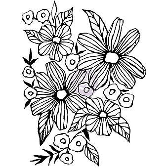 Christine Adolf Cling Rubber Stamps-Daisy May CACS-71687